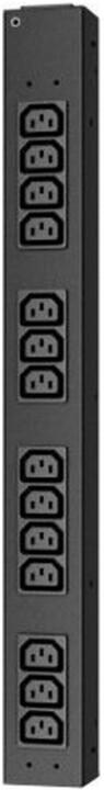 APC rack PDU, 100-240V, 20A, 220-240V, 16A, (14) C13, IEC-320 C20