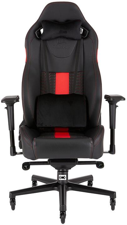 Corsair Gaming T2 ROAD WARRIOR, černá/červená