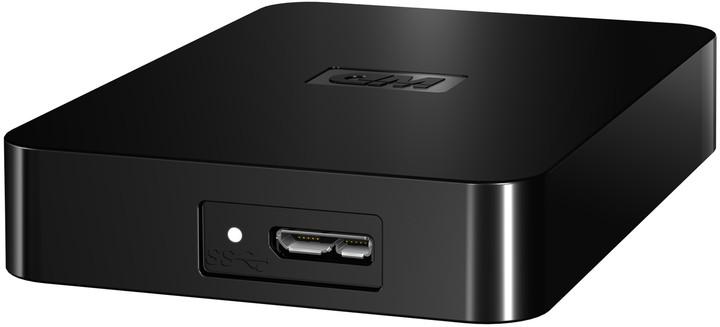 WD Elements Portable SE, USB 3.0 - 1TB, černý