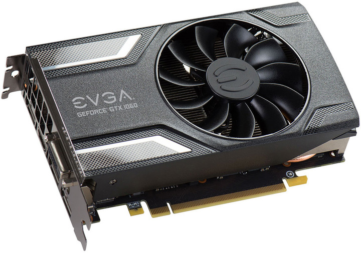 EVGA GeForce GTX 1060 SC GAMING, 3GB GDDR5