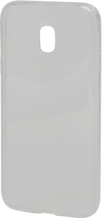 EPICO plastový kryt pro Samsung Galaxy J3 (2017) RONNY GLOSS - bílý transparentní