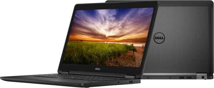 Dell Latitude 14 (E7470) Touch, černá