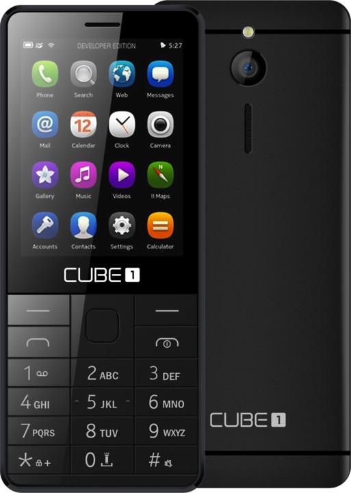 Cube 1 F300, černá