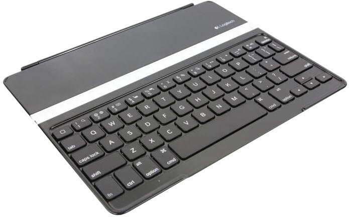 Logitech obal s klávesnicí Ultrathin pro iPad Air 2, šedá