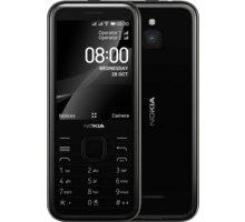 Nokia 8000 4G, Dual SIM, Black - 16LIOB01A09