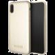 Guess Iridescent Zadní Kryt Gold pro iPhone X