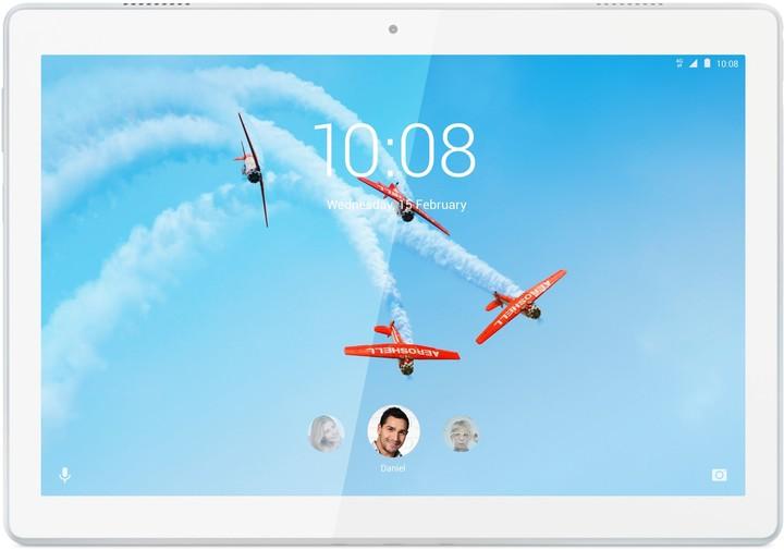 """Lenovo TAB M10 10.1"""" HD, 2GB/32GB, LTE, White"""