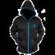 Mikina Alienware Zip-Glow, černá (XL)