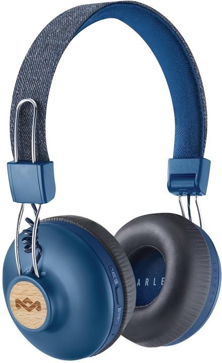 Marley Positive Vibration 2.0 Bluetooth, denim