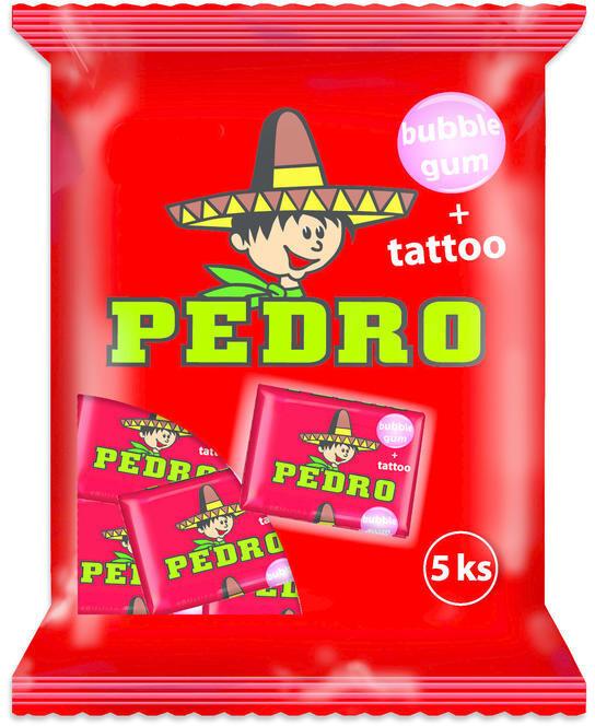 PEDRO - Žvýkačka 25 g