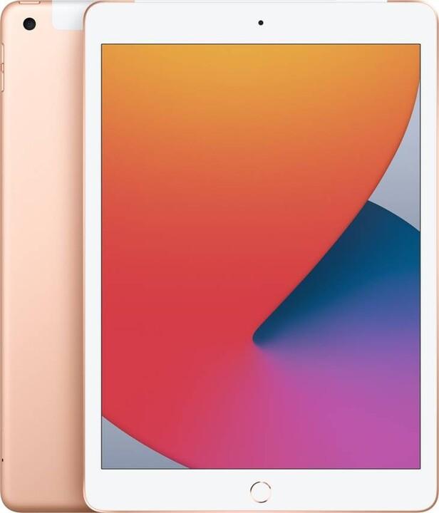 "Apple iPad 2020 (8. gen.), 10,2"", 32GB, Wi-Fi + Cellular, Gold"