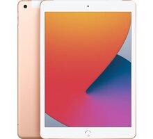 "Apple iPad 2020, 10,2"", 32GB, Wi-Fi + Cellular, Gold - MYMK2FD/A"