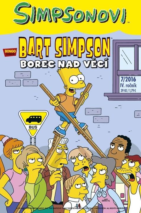 Komiks Bart Simpson: Borec nad věcí, 7/2016