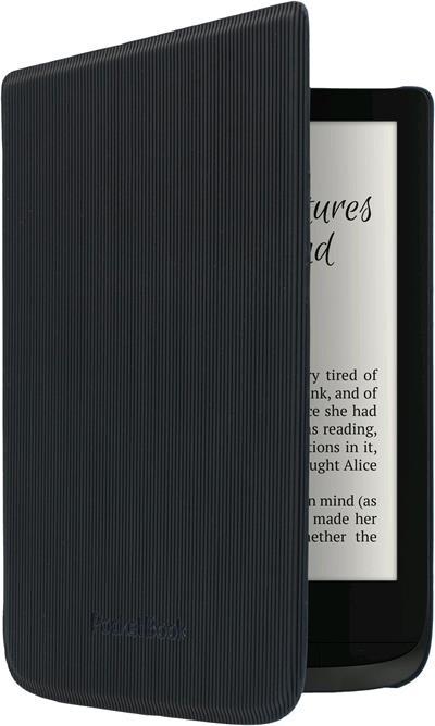POCKETBOOK pouzdro pro 616, 627, 632, pruhované, černá