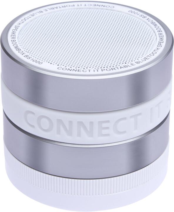 CONNECT IT CI-823 BOOM BOX BS1000WH, bluetooth, bílá