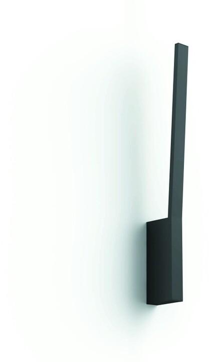 Philips nástěnné svítidlo Hue Liane, LED, RGB, 20W, černá - 2.generace s BT