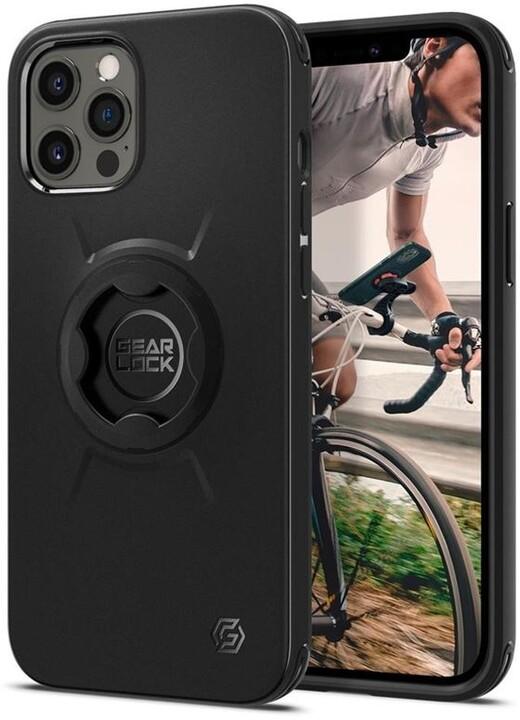 Spigen pouzdro Gearlock po iPhone 12/12 Pro, černá