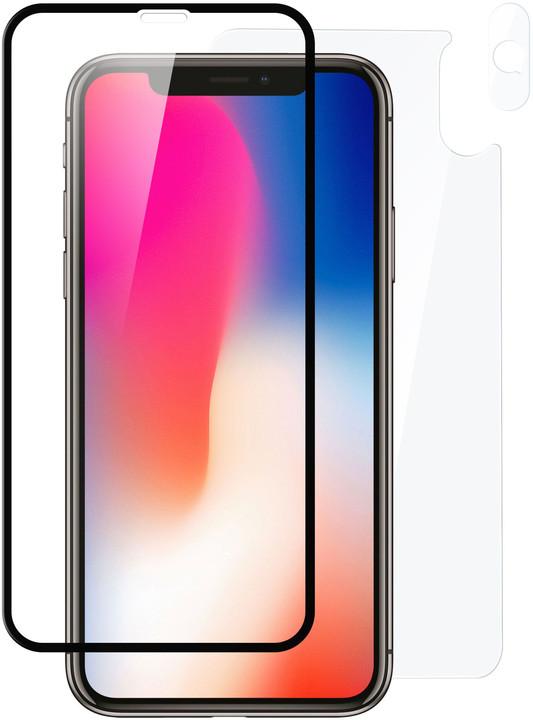 FIXED Set ochranných tvrzených skel pro přední a zadní stranu Apple iPhone XR