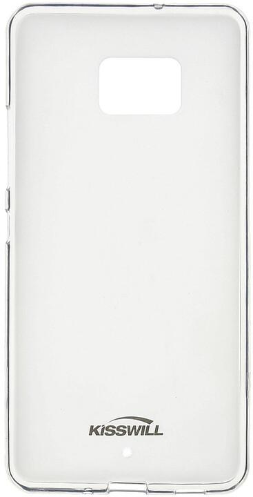 Kisswill TPU pouzdro pro HTC U Ultra, transparentní