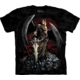 Tričko The Mountain Death Wish, černá (US S / EU S-M)