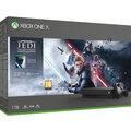 Xbox One X, 1TB, černá + Star Wars Jedi: Fallen Order