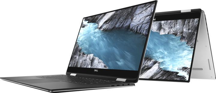 Dell XPS 15 (9575) Touch, stříbrná