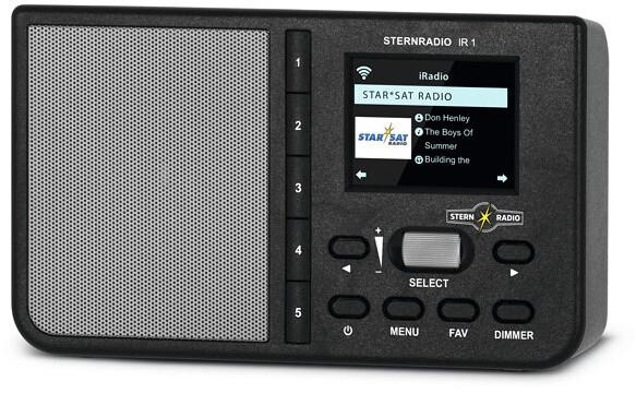 TechniSat SternRadio IR1, černá