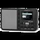 TechniSat SternRadio IR1, černá O2 TV Sport Pack na 3 měsíce (max. 1x na objednávku)