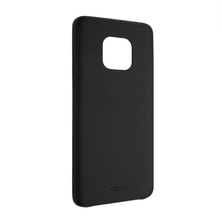 FIXED zadní kryt Tale pro Huawei Mate 20 Pro, PU kůže, černá