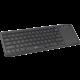 C-TECH WLTK-01, s touchpadem, bezdrátová, černá