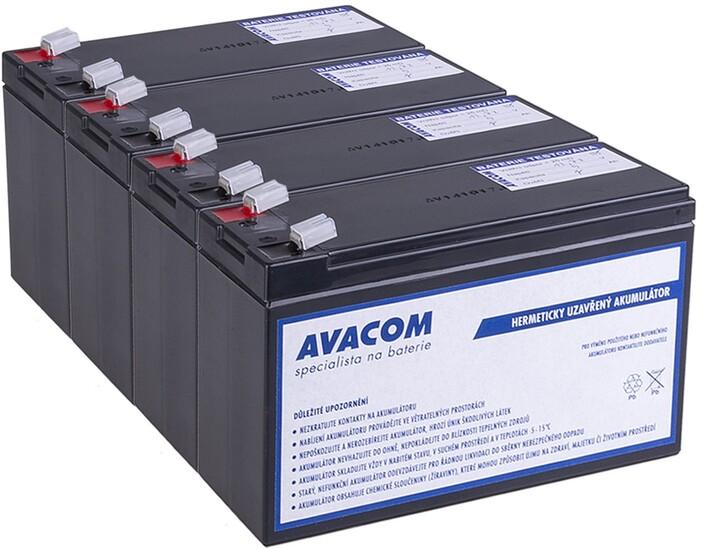 Avacom náhrada za RBC133 (4ks) - baterie pro UPS