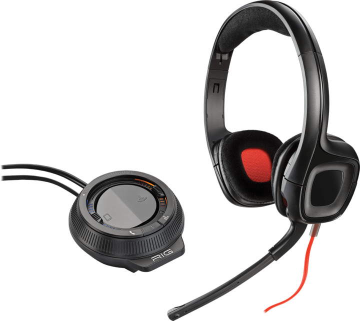 Plantronics Gamecom D60, černá