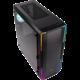 BITFENIX Enso RGB, Tempered Glass, černá