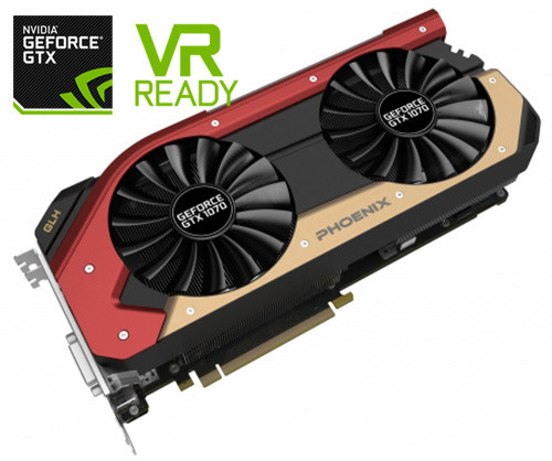 Gainward GeForce GTX 1070 Phoenix GS GLH, 8GB GDDR5