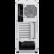 Sharkoon M25-W, okno, bílá