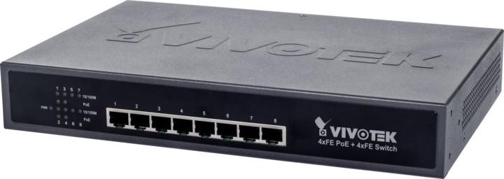 Vivotek 8-portový PoE Switch