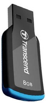 Transcend JetFlash 360 8GB, černo/modrá