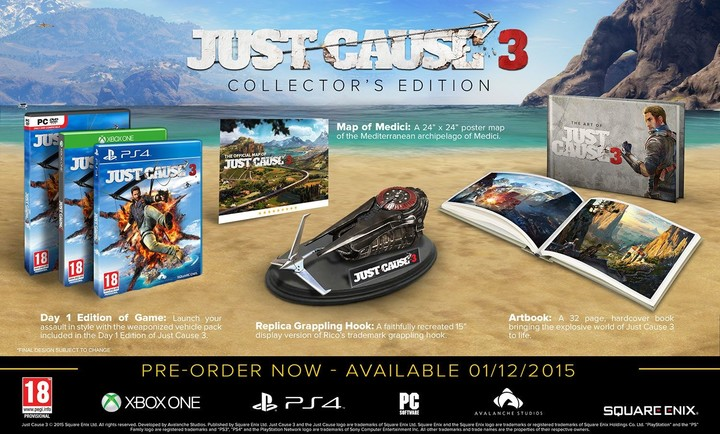Just Cause 3: Collectors Edition (PC)