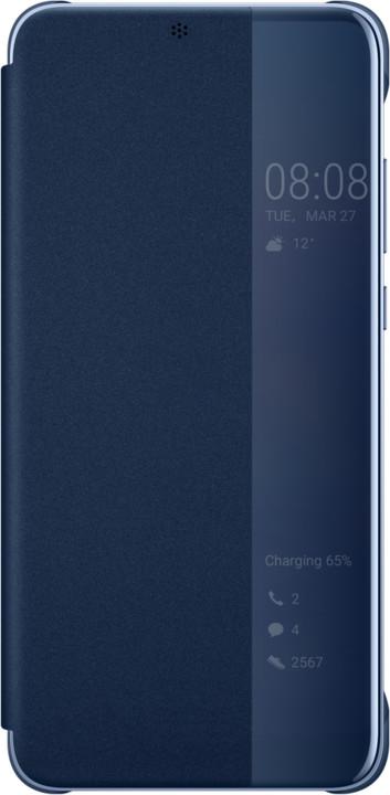 Huawei Original S-View Cover Pouzdro pro P20 Pro, modrá