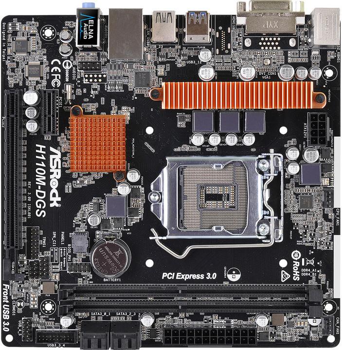 ASRock H110M-DGS R3.0 - Intel H110