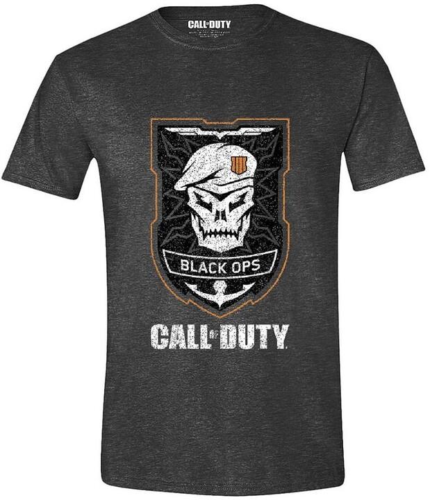 Tričko Call of Duty: Black Ops 4 - Skull Logo (XL)