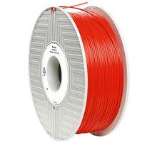 Verbatim tisková struna (filament), PLA, 1,75mm, 1kg, červená - 55270