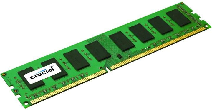 Crucial 8GB DDR3 1600 ECC Unbuffered