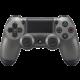 Sony PS4 DualShock 4 v2, metalicky černý  + 300 Kč na Mall.cz