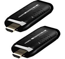 PremiumCord HDMI Wireless extender na 15m, pásmo 5.8GHz - khext50-4