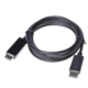 PremiumCord DisplayPort na HDMI kabel 5m M/M