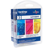 Brother LC-1100HY RBWBP, multipack C+M+Y - LC1100HYRBWBP