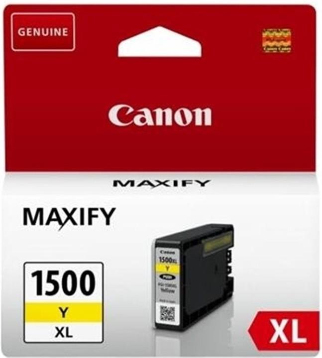 Canon PGI-1500XL Y, žlutá