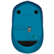 Logitech Wireless Mouse M535, modrá