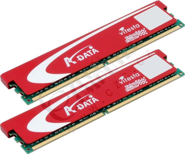 ADATA + Series 2GB (2x1GB) DDR2 800